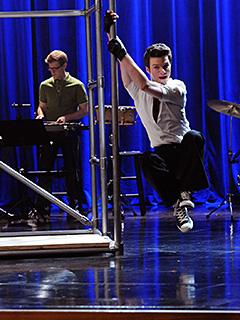 Chris Colfer, Glee