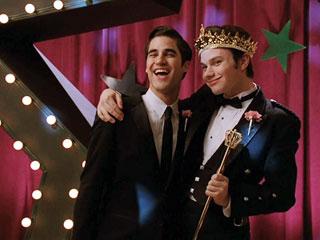 Glee Prom Kurt Criss