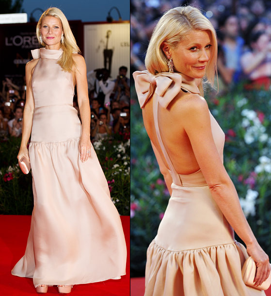 Gwyneth Paltrow | She already won the Emmy for her guest-star stint on Glee (announced at the Sept. 10 Creative Arts Emmy Awards), but given the great fashion…