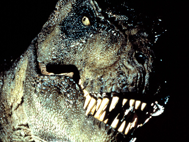 Jurassic Park   Long before Terra Nova , Steven Spielberg's main dino creation had us totally afraid that science would advance enough to being able to recreate a…