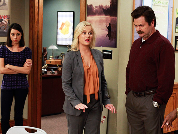 Thursday, 8:30-9 p.m., NBC Caught in a political pickle, Leslie makes a big decision about whether to run for office or date her supervisor, Ben…
