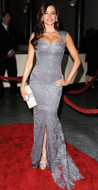Sofia Vergara | No matter what color she's wearing, the Modern Family stunner (and Best Supporting Actress in a Comedy nominee) is always red-hot.