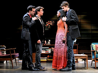 Will Rogers, Jonathan Groff, ... | THE SUBMISSION Jonathan Groff, Eddie Kaye Thomas, Rutina Wesley, and Will Rogers