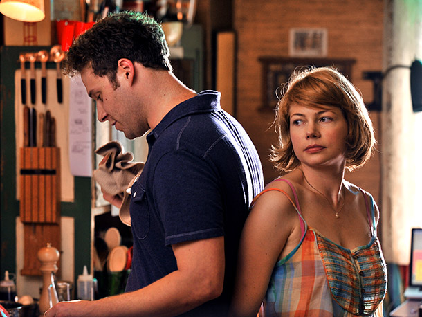 Sarah Polley directs Michelle Williams (pictured) in this (anti-?) romantic comedy about long-term love. — Jeff Labrecque