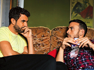 EMOTIONAL CONNECTION Tom Cullen and Chris New in Weekend