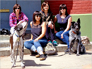 GRRRL POWER Members of Sleater-Kinney, Helium, and the Minders bring together the first female-driven rock supergroup