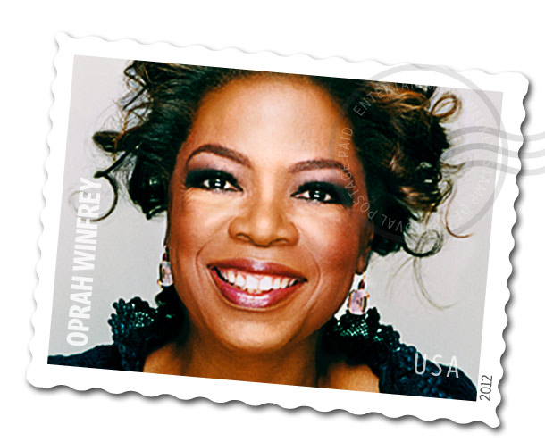 Oprah Winfrey | Based on the ''enduring contributions to the United States of America'' criterion for getting on a stamp alone, you kind of have to include Oprah…
