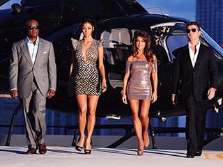Antonio ''L.A.'' Reid, Nicole Scherzinger, Paula Abdul, Simon Cowell in The X Factor