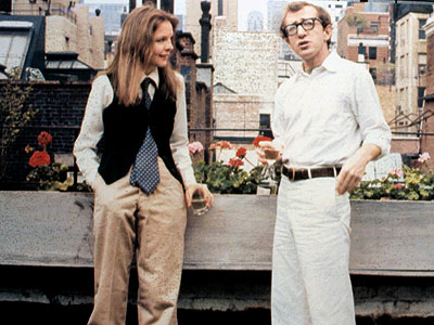 Woody Allen, Diane Keaton, ... | Annie Hall (1977) After several very funny movies in which he directed and played the nebbishy romantic lead, Allen made a more serious, impressionistic romantic…