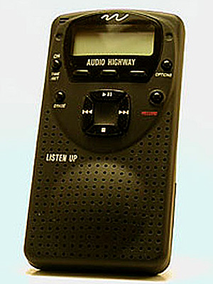 Sept. 23, 1996 Audio Highway announces the first commercial portable MP3 player. Just 25 are made.