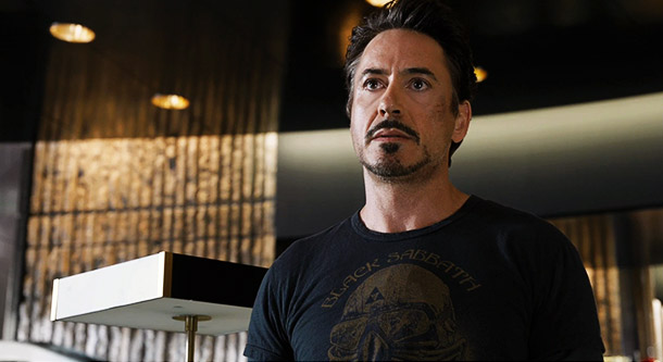 Tony Stark still loves Black Sabbath. Wouldn't you if your alter ego was named Iron Man?