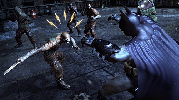 The various goons spread throughout Arkham City don't seem too tough at first, but they get bigger and better weapons over the course of the…
