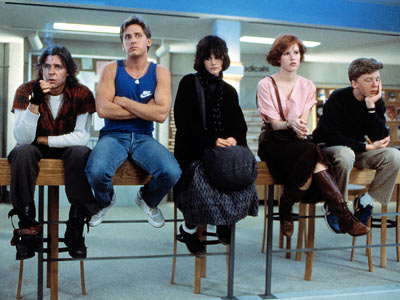 The Breakfast Club, Ally Sheedy, ... | The Breakfast Club Five disparate teens on a Saturday tour of detention. Not a lot of action you say? Oh but they learned so much,…
