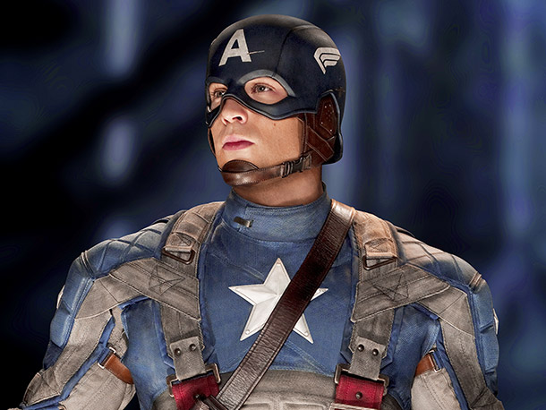 Captain America: The First Avenger DVD and download