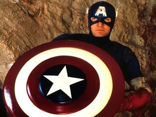 OH 'CAPTAIN,' MY CAPTAIN Matt Salinger in Captain America