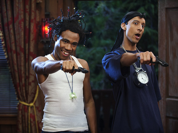 Community, 10/27, Donald Glover and Danny Pudi as gangsters