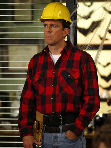 The Office, 10/27, Ed Helms as a construction worker