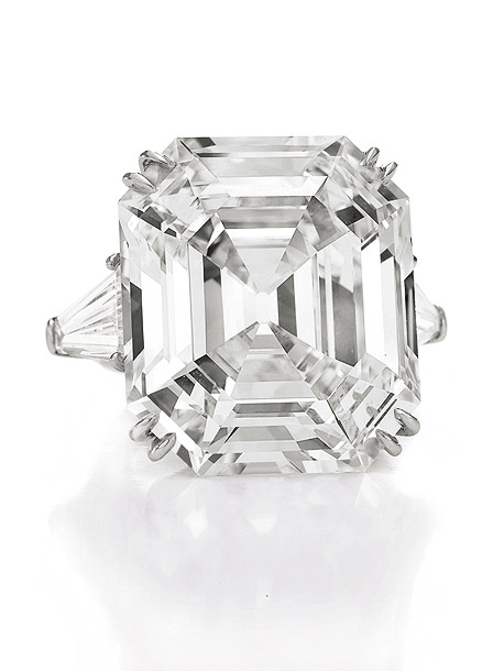 The Elizabeth Taylor Diamond. A 33.19 carat diamond ring from Richard Burton (who originally paid $205,000 for it in 1968) Estimated value: $2,500,000-$3,500,000