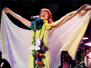 'SHAKE IT OUT' SENORA Florence Welch returns with a dazzlingly baroque follow-up to her 2009 hit churner Lungs