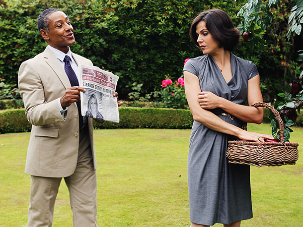 Once Upon a Time | Breaking Bad 's big bad Giancarlo Esposito is set to cause a stir in Storybrooke as Sydney, an intrepid reporter for the Daily Mirror .…