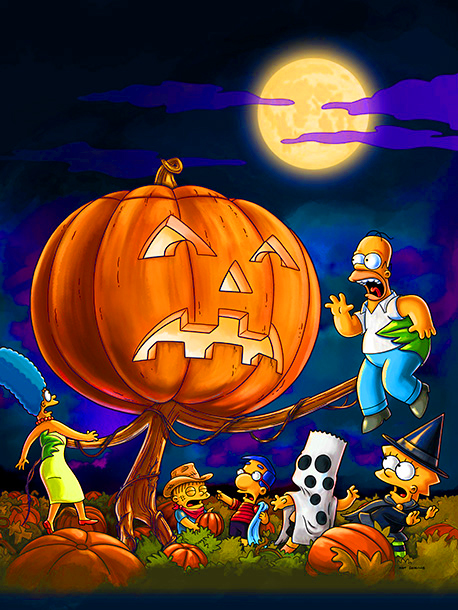 The Simpsons | Milhouse's beloved Grand Pumpkin comes to life and goes on a killing spree when he sees what Springfielders do to his fellow pumpkins. ''For years…