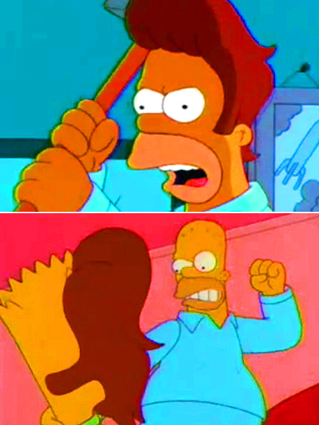 The Simpsons | The hair of a condemned man goes on a killing rampage through Springfield. ''The scene where the toupee is killed in a gunfight — I…