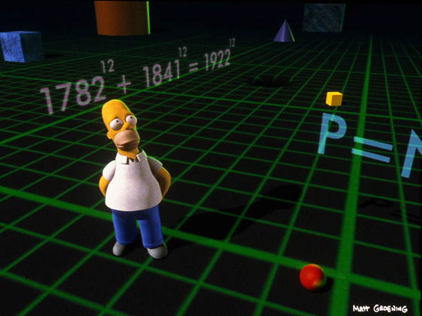 The Simpsons | Homer enters the third dimension. ''That was our first foray into 3-D animation. Now, of course, with Pixar and everything, it may look a little…