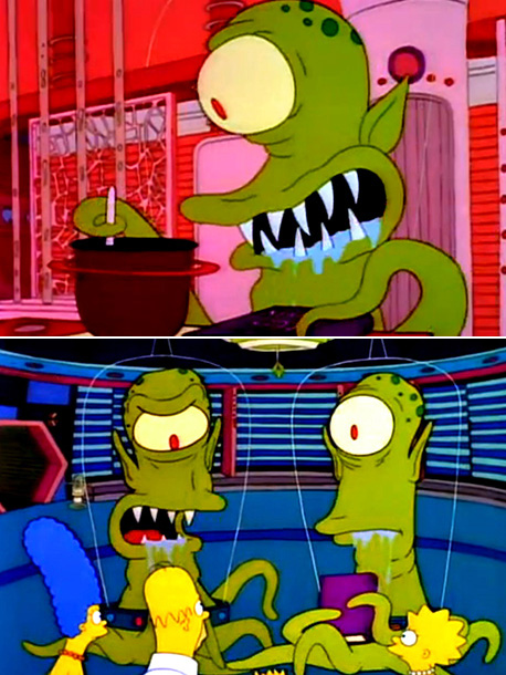 The Simpsons | Features the origin of Kang and Kodos and James Earl Jones as Serak the Preparer . ''That was the first Halloween show. The idea of…