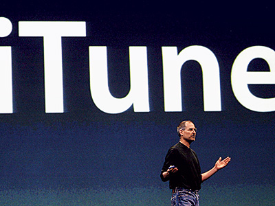 April 28, 2003 The iTunes Music Store launches with 200,000 songs priced at 99 cents apiece. Within a week, one million songs are sold.