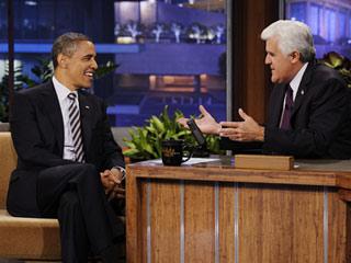 Jay Leno President Obama