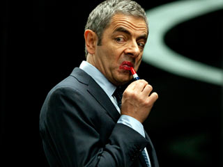 ONE MAN Rowan Atkinson in Johnny English Reborn