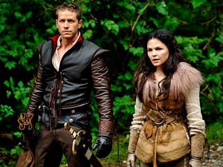JUST THIS 'ONCE' Josh Dallas and Ginnifer Goodwin in Once Upon a Time