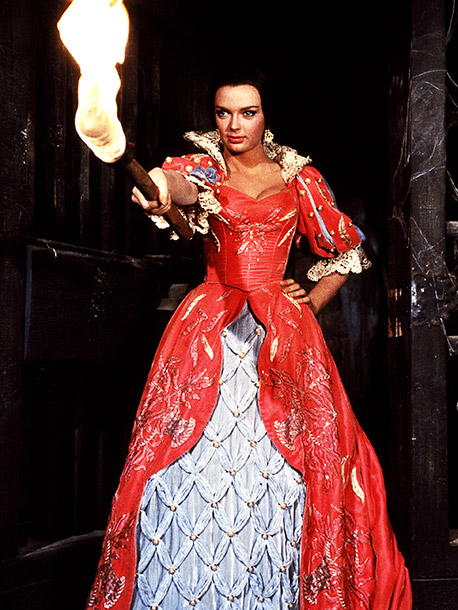 Barbara Steele, The Pit and the Pendulum | ''There are actresses who work in horror movies, and then there is Barbara Steele, the Ultimate Horror Goddess and a true icon. Babs starred in…