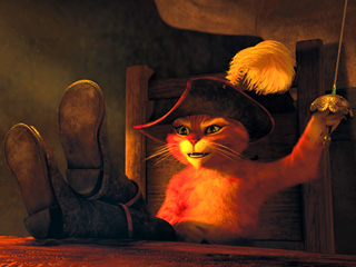 Puss in Boots | 'PUSS' IT TO THE LIMIT Antonio Banderas voices the infamous feline in Puss in Boots