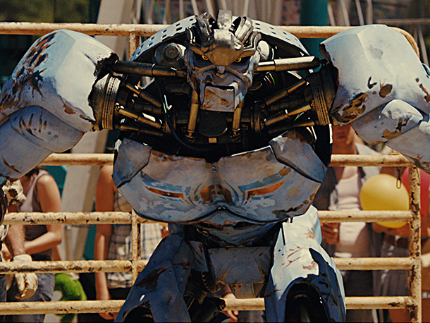 Real Steel | At the beginning of Real Steel , Jackman is as low as you can get in the world of robot boxing. He has a ramshackle,…