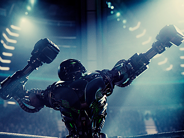 Real Steel | The ultimate opponent, the reigning champion of robot boxing, is this formidable fellow — Zeus. He's the top of his class, immense, finely crafted, and…