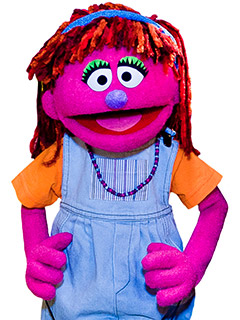 Sesame Street Puppet Lily