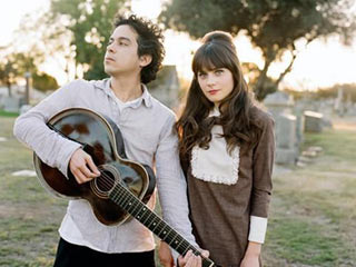 CHRISTMAS GOOSE Deschanel and Ward keep it playful on their best holiday ditties
