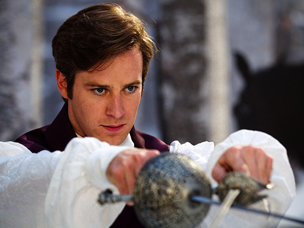 Armie Hammer (Prince Andrew Alcott)