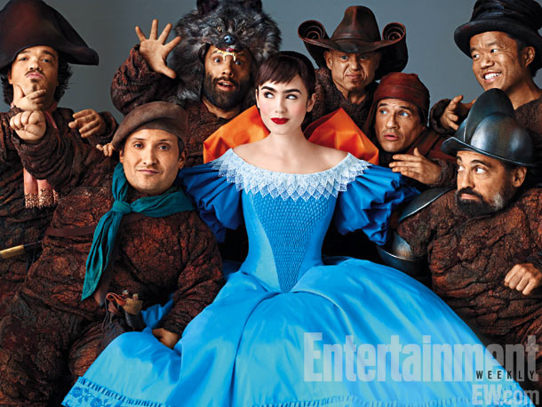 Snow ( Abduction 's Lily Collins) is a delicate? princess trying to overthrow her wicked stepmother with the aid of seven dwarfs, who bedevil the…