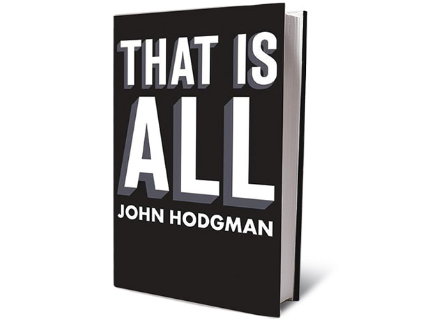 That Is All, by John Hodgman