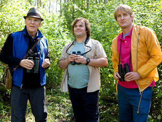 BIRDS OF A FEATHER Steve Martin, Jack Black, and Owen Wilson in The Big Year