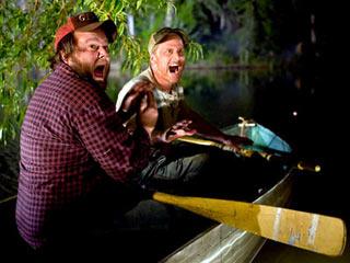 Alan Tudyk, Tyler Labine | SEE NO 'EVIL' Tyler Labine and Alan Tudyk in Tucker & Dale Vs. Evil
