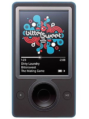 November 14, 2006 Microsoft releases the Zune media player, a direct competitor to the iPod. It will be discontinued less than five years later.