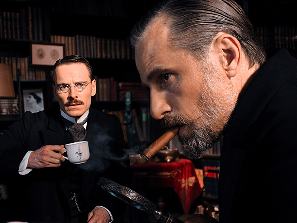 Someone get these shrinks a shrink! Famed psychiatrists Carl Jung (Michael Fassbender) and Sigmund Freud (Viggo Mortensen) have a falling-out when Jung gets involved with…