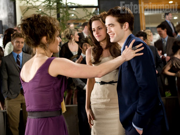 Sarah Clarke, Stewart, and Pattinson