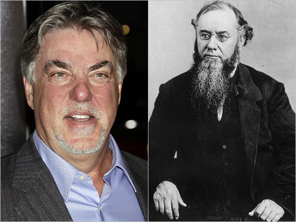 Bruce McGill (Cinderella Man) as Edwin Stanton of Ohio, an ambitious politician who became Lincoln's forceful Secretary of War