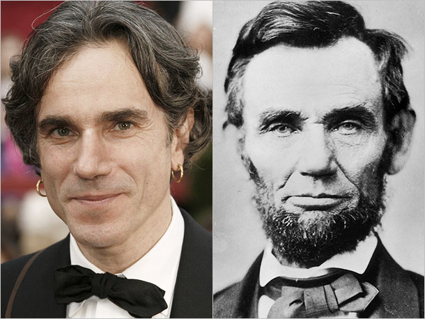 Daniel Day-Lewis as Abraham Lincoln, the 16th president of United States
