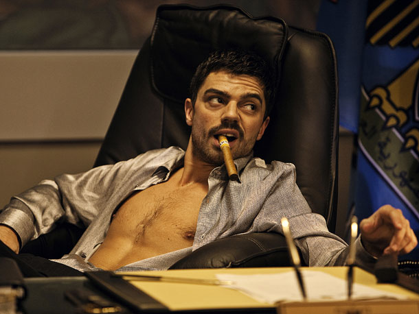 Dominic Cooper, The Devil's Double | The devil was Saddam Hussein's sadistic, psychopathic playboy son Uday; his unlucky body double was purportedly Latif Yahia, an Iraqi soldier forced into service. The…