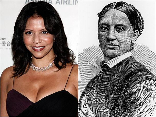 Gloria Reuben (ER) as Elizabeth Keckley, Mary Todd Lincoln's personal modiste and confidante